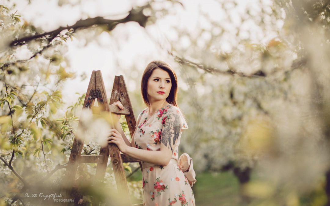 Sesja w krainie kwitnącej wiśni
