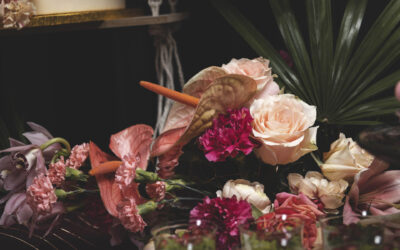 Tropikalny słodki stół